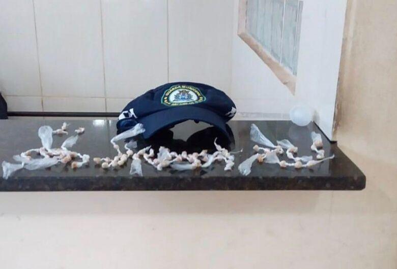 Guarda Municipal detém menores com grande quantidade de crack na Rendenção