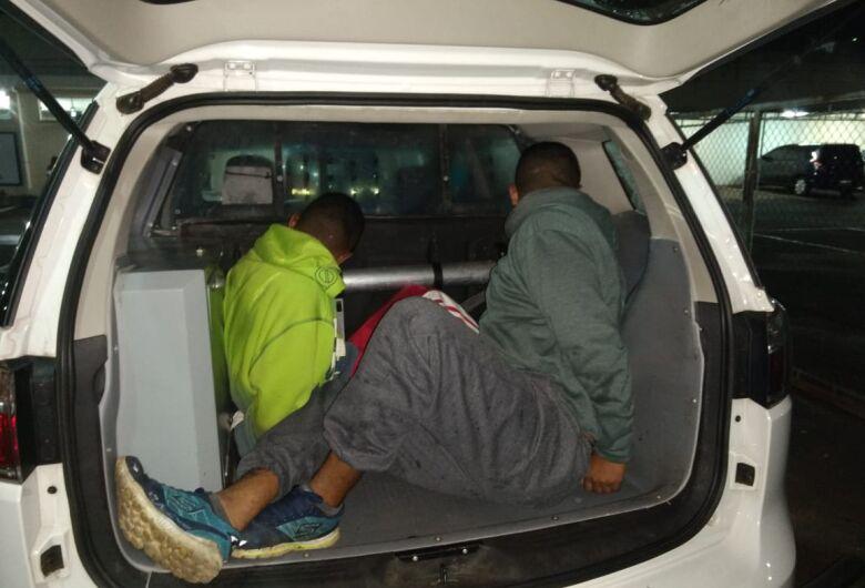 Dupla é detida após roubos no Cidade Jardim