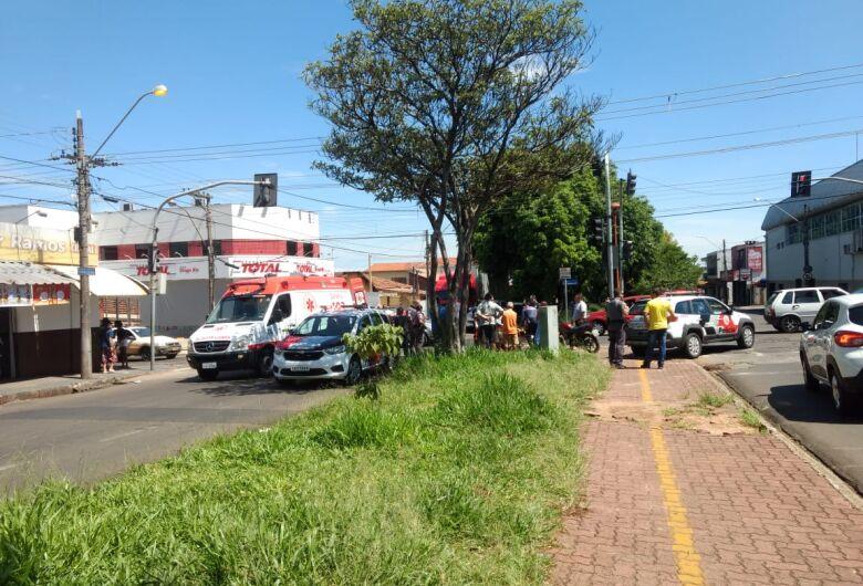 Criança de seis anos fica ferida em colisão no Boa Vista