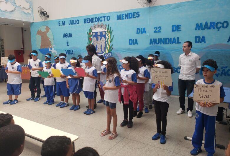 Dia Mundial da Água é tema de projeto em Escola Municipal de Ibaté