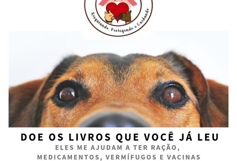 Grupo Pro-Animal arrecada livros e prepara feira solidária
