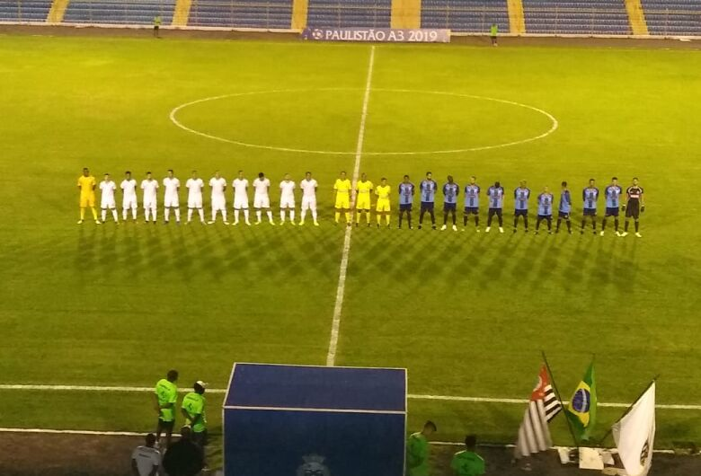 São Carlos com um pé na Segunda Divisão