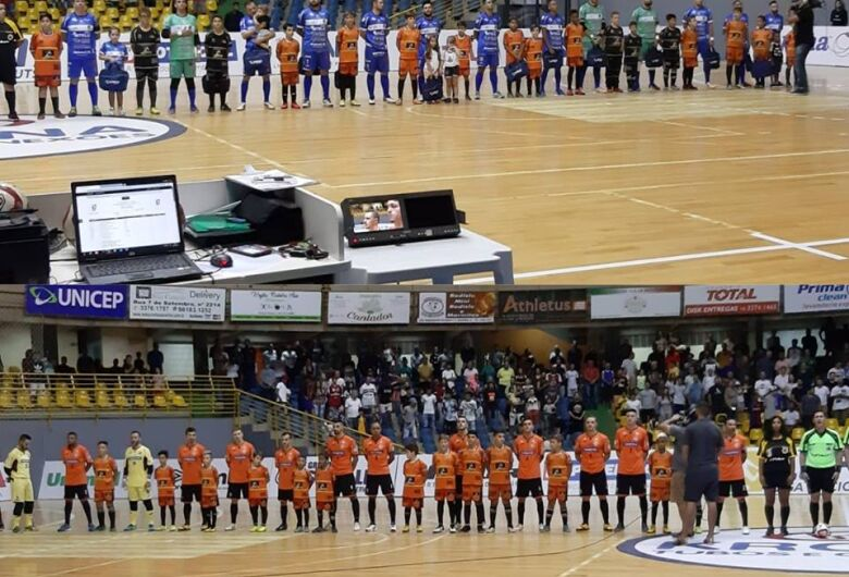 Atletas do Multi Esporte participam da preliminar do jogo da Liga Nacional