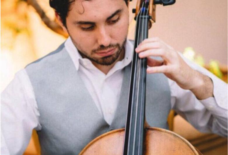 Recital de violoncelo Cello Mythos acontece na UFSCar