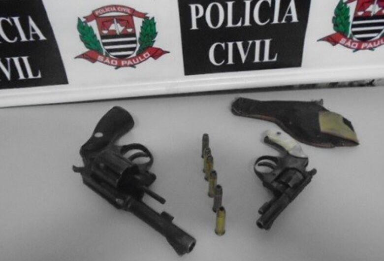 Segurança é preso pela Polícia Civil após ser flagrado armado em Porto Ferreira