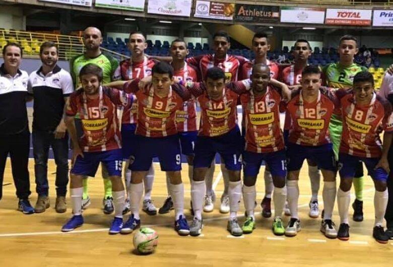 São Carlos Futsal aplica goleada de dois dígitos e despacha Santa Lúcia na Taça EPTV