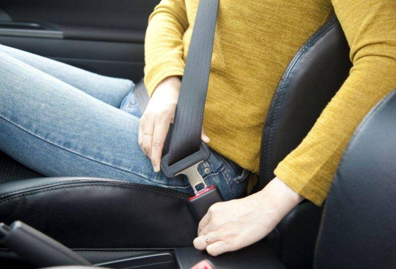 A importância do uso do cinto de segurança