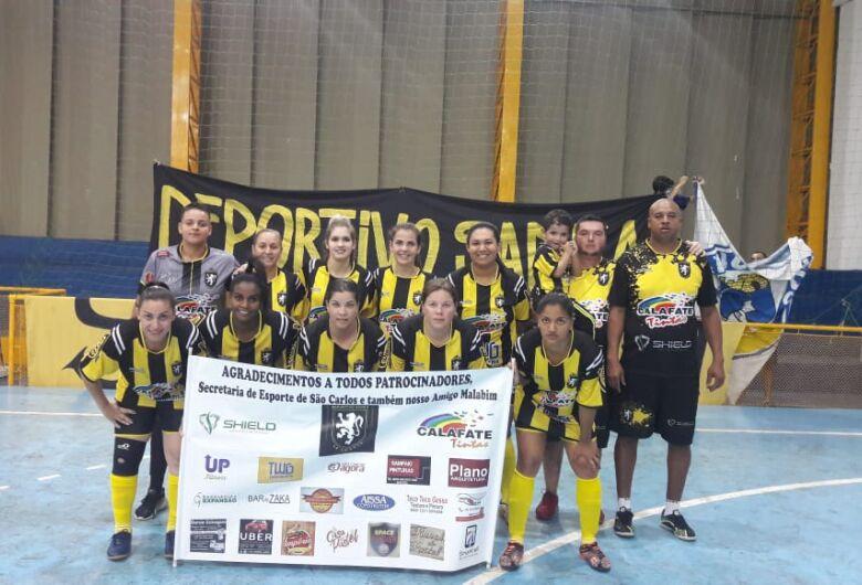 Meninas do Deportivo Sanka estreiam com boa vitória Copa Record