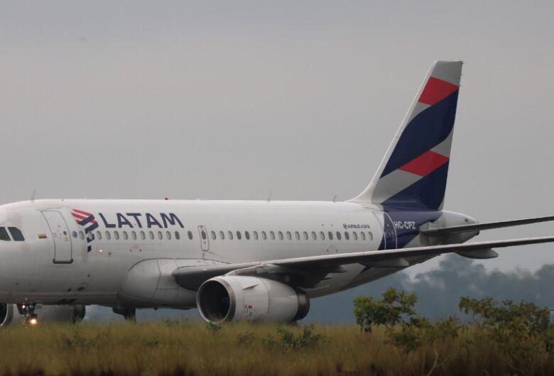 MRO da LATAM antecipa em 24 horas, a liberação do primeiro avião a fazer desembaraço aduaneiro em São Carlos