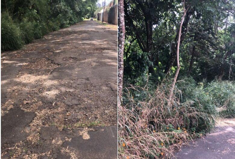 Vereador Rodson aponta necessidade de recape em ruas do Planalto Paraíso