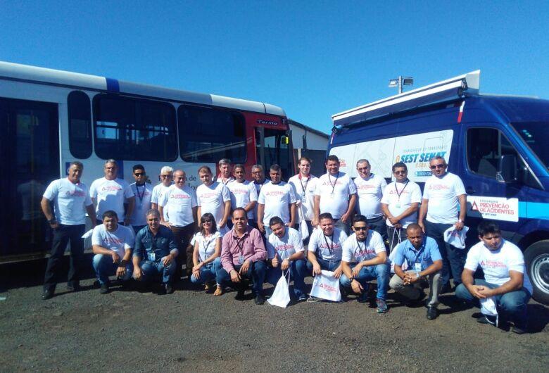 Funcionários da Suzantur participam do Programa CNT SEST SENAT de Prevenção de Acidentes