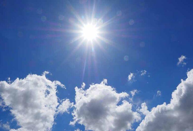 Sol vai predominar em todo o Estado durante o feriado; confira a previsão