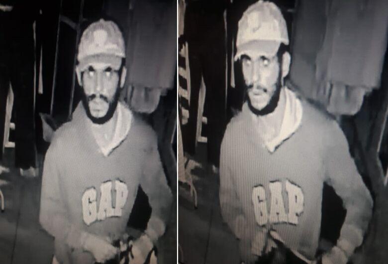 Polícia procura ladrão que está agindo no Cidade Jardim