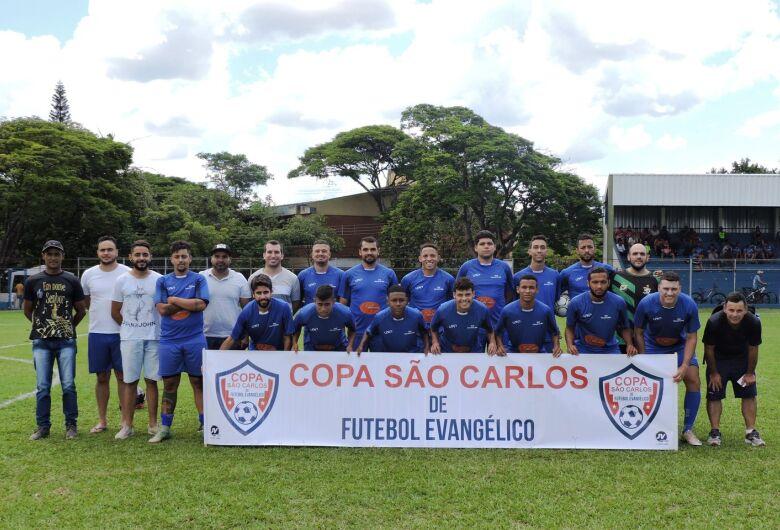 Copa São Carlos abre fase eliminatória com oito equipes tentando chegar a semifinal