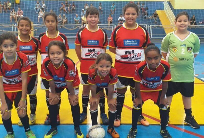 Futsal feminino da Mult Sport tem os primeiros desafios