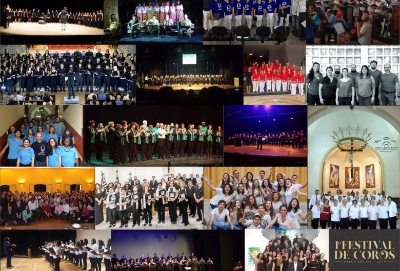 1º Festival de Coros São Carlos começa nesta sexta-feira
