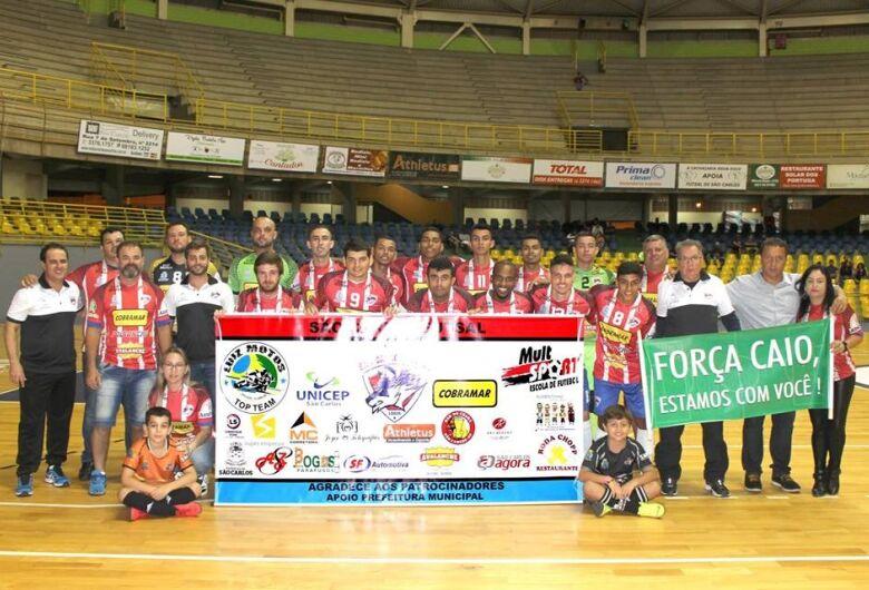 São Carlos Futsal encara Analândia e foca vitória com muitos gols