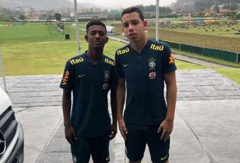 Dois atletas de Ibaté são convocados para a Seleção Brasileira de Futebol sub15
