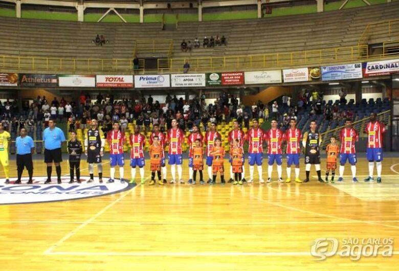 São Carlos Futsal busca mais um título inédito para o esporte são-carlense