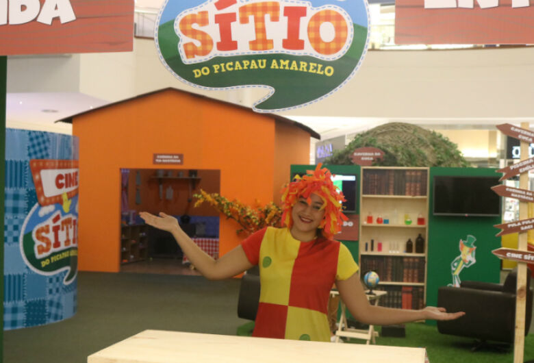 Sítio do Picapau Amarelo chega ao Iguatemi São Carlos com diversas atividades para a criançada