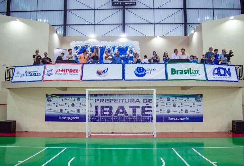 Ibaté recebe partida semifinal da 23º Taça EPTV