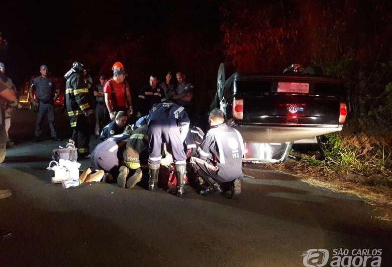 Morre motorista que passou mal ao volante e bateu em barranco no Planalto Verde