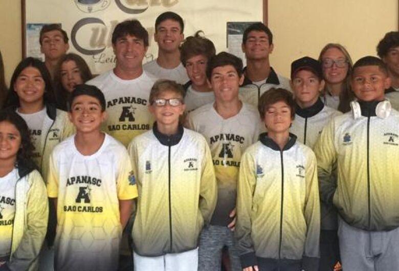 Atletas da Apanasc/Smec se preparam para desafios estaduais e nacionais