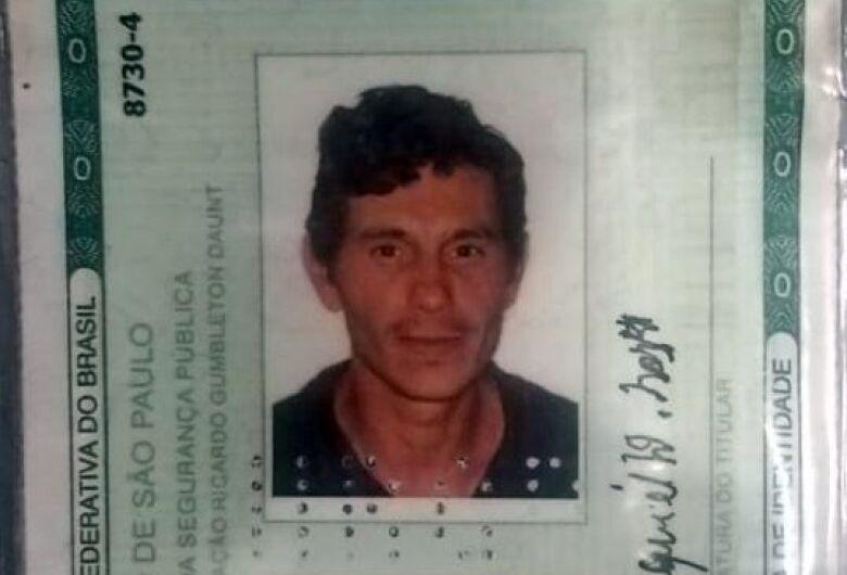 Homem morto a facadas estava desaparecido desde domingo