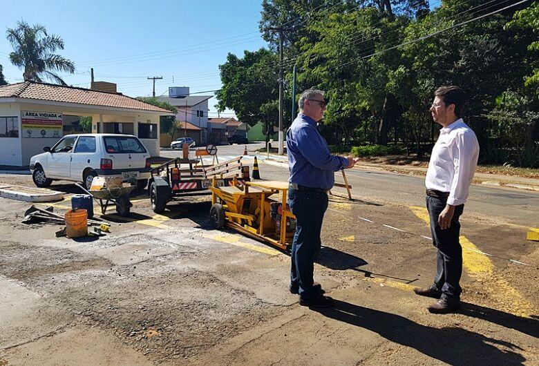 Após solicitações do vereador Daniel Lima, acesso ao Residencial Samambaia ganha revitalização