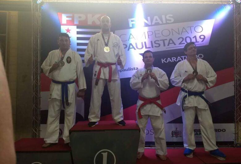 Akasc conquista seis medalhas no Paulista de Karatê; duas de ouro