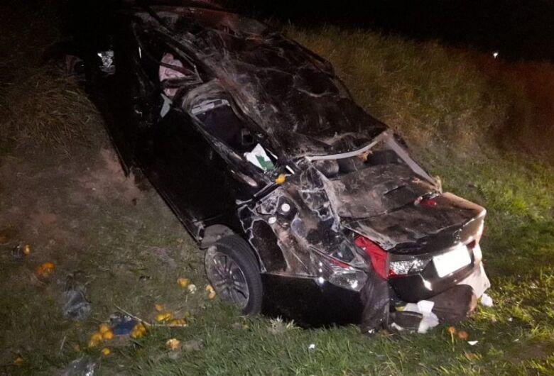 São-carlense morre em capotamento na rodovia dos Bandeirantes em Limeira