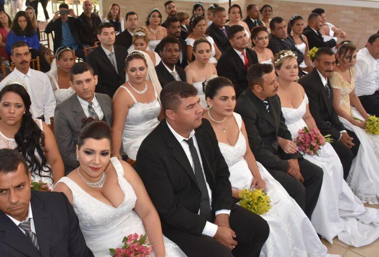 Casamento Comunitário acontece nesta quinta-feira no The Palace