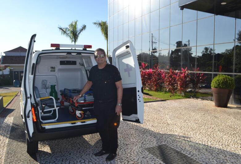 Prefeitura de Ibaté adquire mais uma ambulância para o Departamento da Saúde