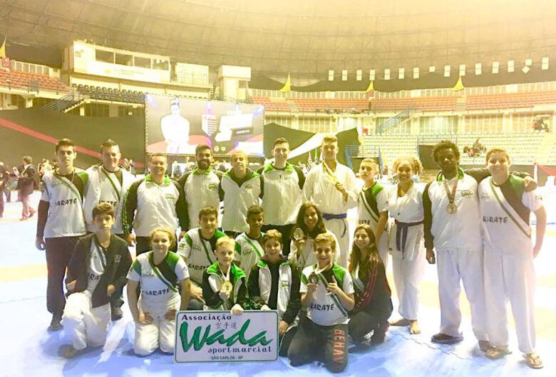 Equipe Wada brilha e conquista 11 medalhas na final do Paulista