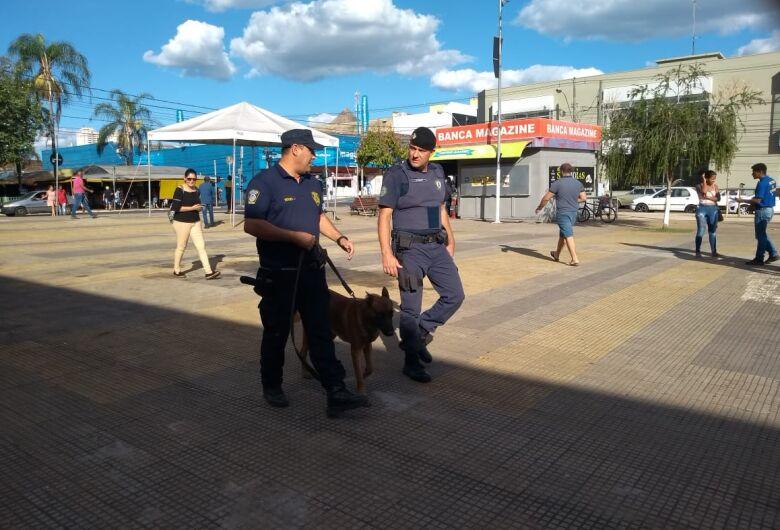 """Guardas Municipais participam de curso sobre """"Condução de Cães de Polícia"""