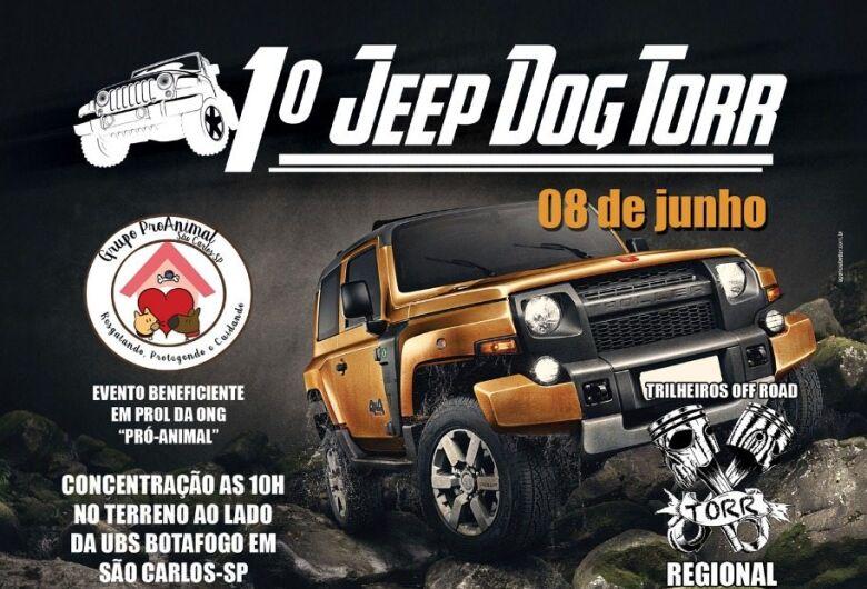 1º Jeep Dog Torr acontece neste sábado e vai ajudar animais abandonados