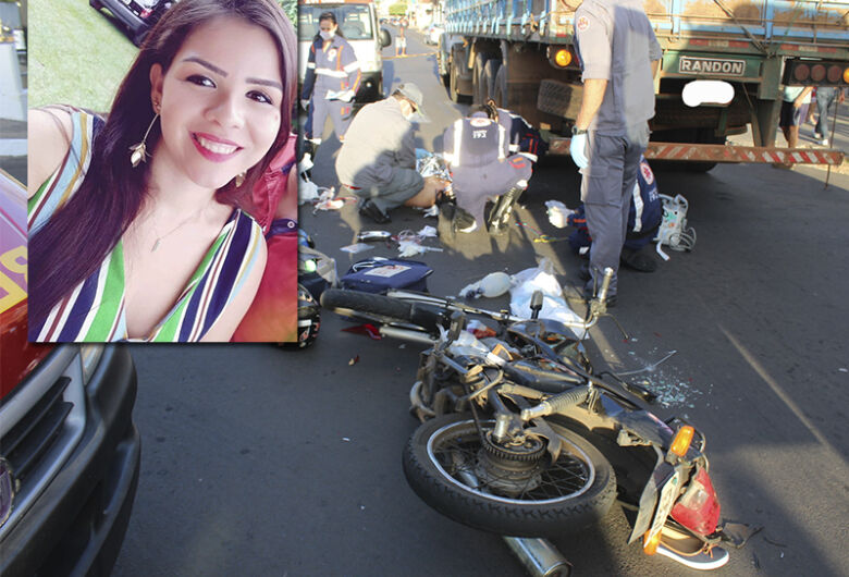 Jovem morre após acidente de moto em cidade da região