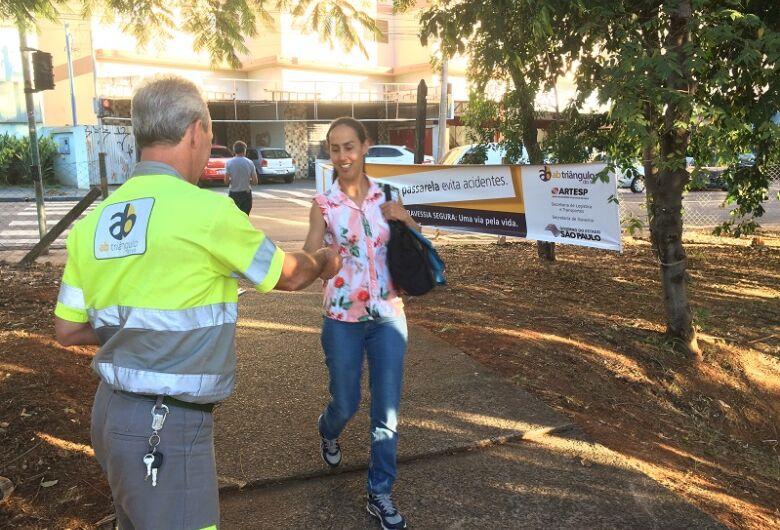 São Carlos recebe ação de segurança viária para pedestres nesta segunda, 17