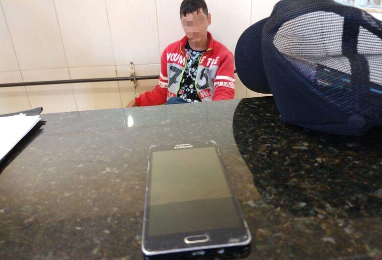 Suspeito é detido com celular furtado na região do kartódromo