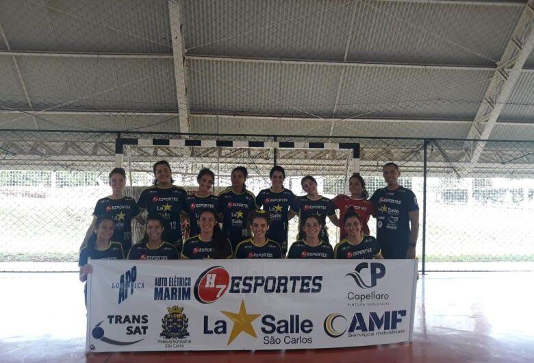 H7 Esportes/La Salle sofre, mas vence Jales na estreia nos Jogos da Juventude