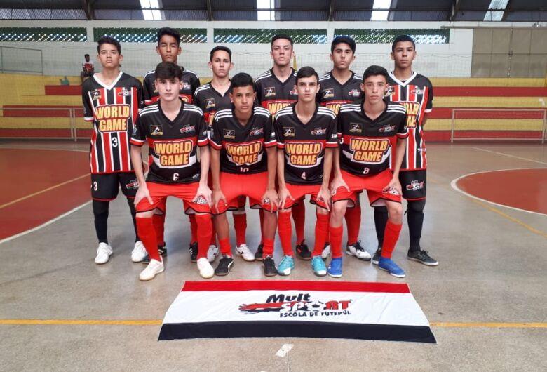 Sub16 do Multi Esporte/La Salle é a equipe a ser batida no Paulista Sul Minas