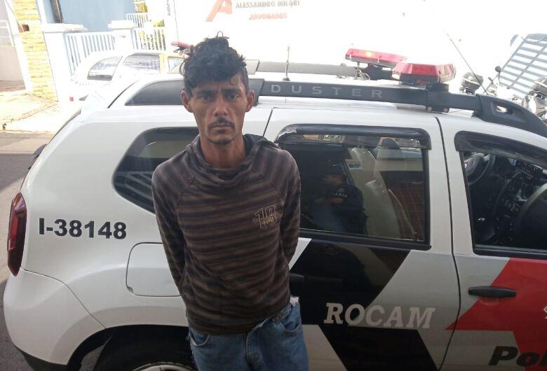 Em atitude suspeita, procurado por furto é detido no centro