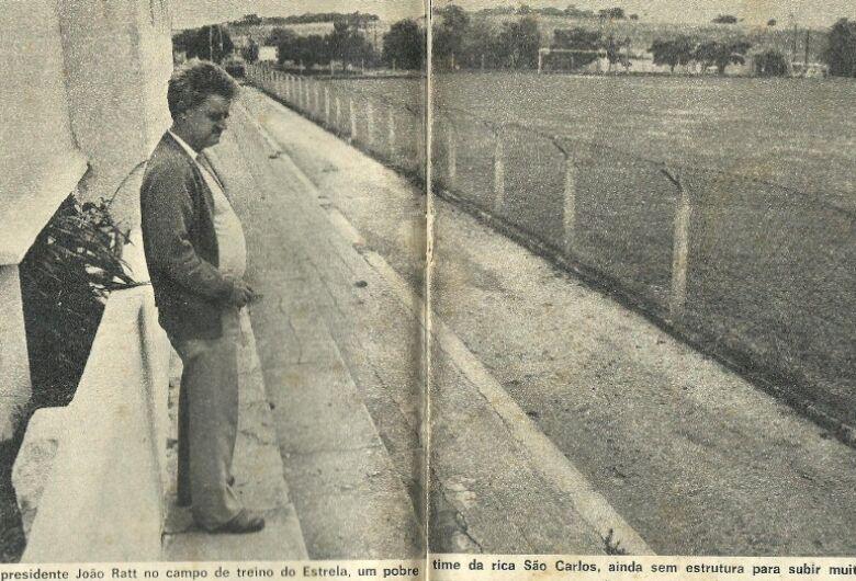João Ratti, uma história de amor ao futebol