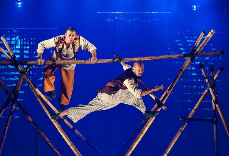 Espetáculo de Circo Simbad, o Navegante é atração no Sesc São Carlos