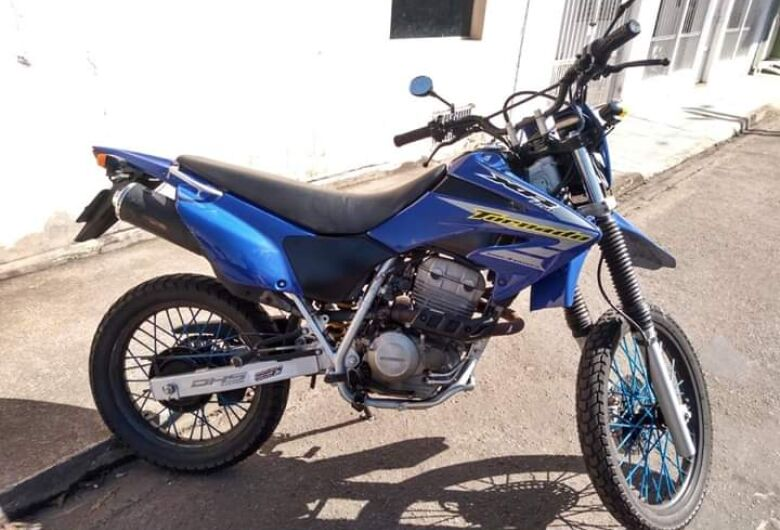 Moto é furtada em Itirapina
