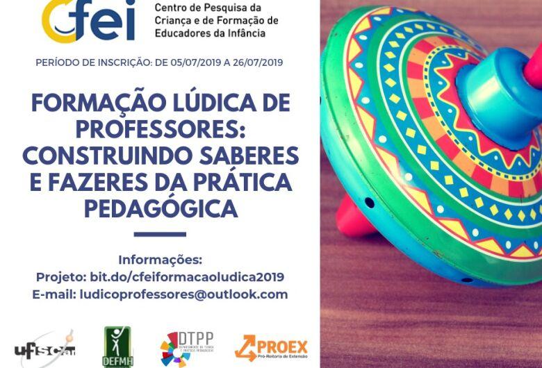 UFSCar promove curso de formação lúdica de professores