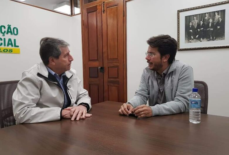 Vereador Daniel Lima visita Acisc e apresenta projeto da Semana do Empreendedorismo