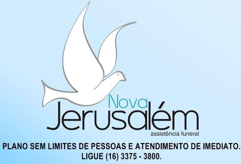 Funerária Nova Jerusalém informa nota de falecimento