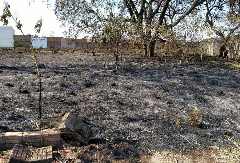 Prefeitura alerta sobre cuidados com incêndios provocados em terrenos