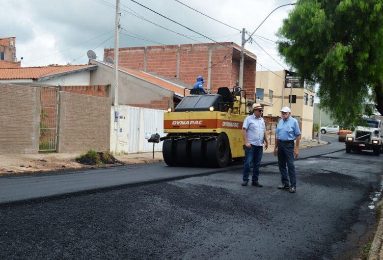 São Carlos dá início a maior obra de recapeamento da história da cidade